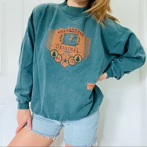 Retro Ski Steamboat Springs Colorado Sweatshirt